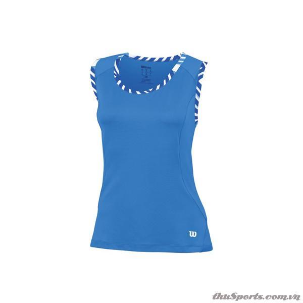 Áo Thể Thao Nữ Wilson Tulip Tank NEPTUNE BLUE WRA705803