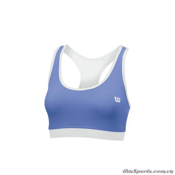 Áo ngực thể thao Wilson Rush Reversible Bra WH/PERI BLUE WRA708601