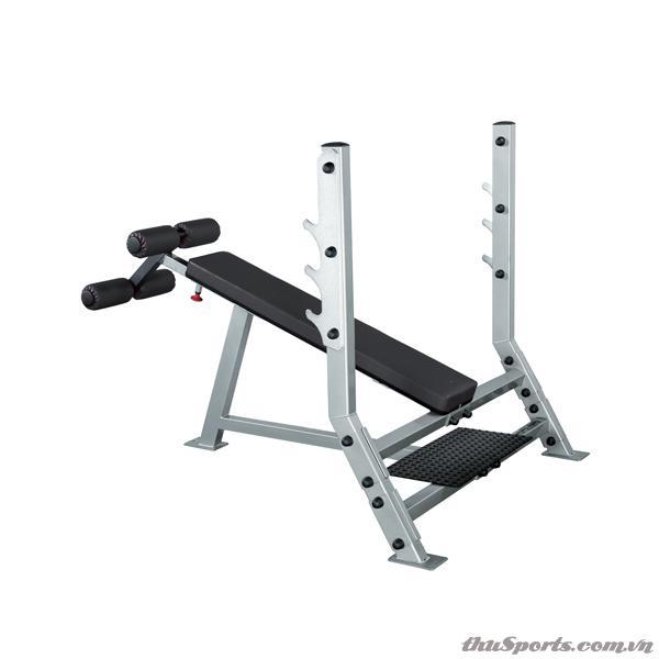 Ghế Tập Tạ BODY SOLID Decline Olympic Bench SDB351G+SPS12