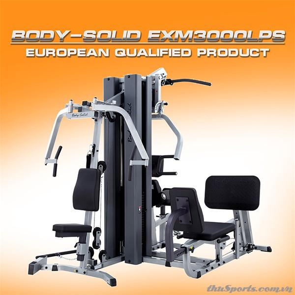 Dàn Tạ Đa Năng BodySolid EXM-3000LPS (optional VKR30)