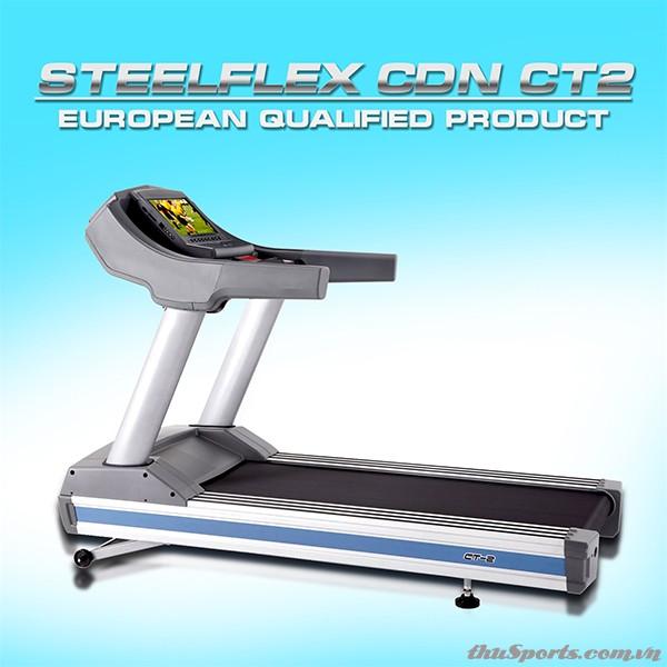 Máy Chạy Bộ Điện SteelFlex CT2