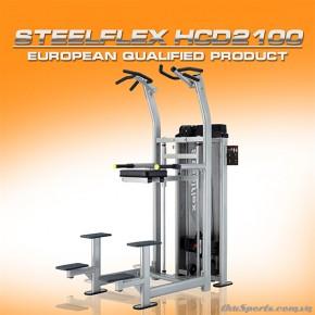 Dàn tạ SteelFlex Chin/Dip Machine HCD2100