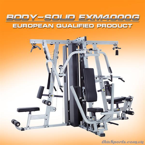Dàn Tạ Đa Năng BodySolid EXM4000G (optional LP40G)