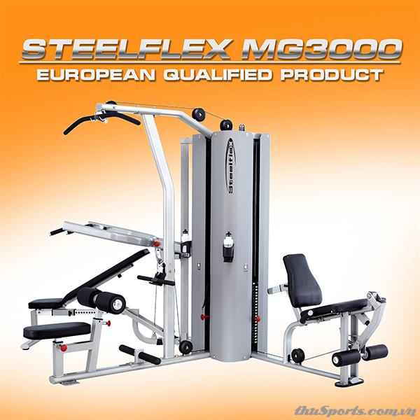 Dàn tạ đa năng SteelFlex DN-MG3000 Multi Gym 3000