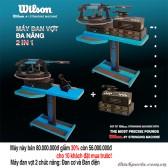 Máy đan vợt Wilson Ultra đa năng 2 in 1