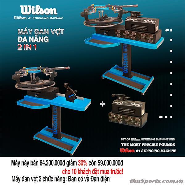 Máy Đan Vợt Wilson Ultra 2 in 1 Thế Hệ Mới