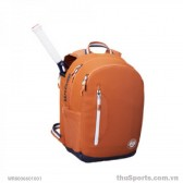 Balo thể thao WILSON ROLAND GARROS TOUR BACKPACK CLAY/Nav/Wh WR8006601001