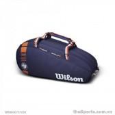 Túi thể thao WILSON  ROLAND GARROS TEAM 6PK Nav/CLAY WR8006701001