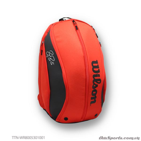 Balo thể thao WILSON RF DNA BACKPACK Rd/BLACK WR8005301001