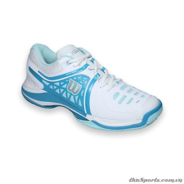 Giày Tennis Nam Wilson Nvision Elite WH/MINT ICE W/LIGHT UL WRS320020