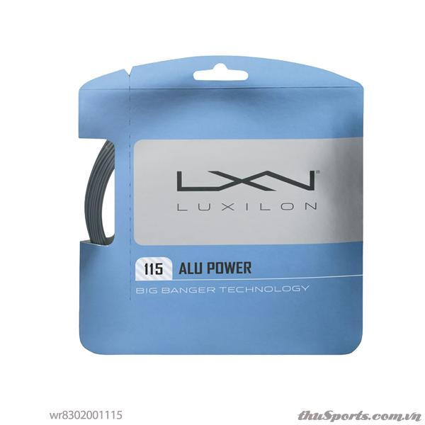 Dây đan vợt tennis WILSON ALU POWER 115 Silver WR8302001115