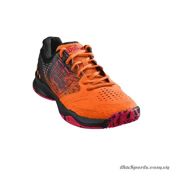 Giày Tennis Wilson KAOS COMP Shock/Bk/NEON RED WRS323890