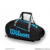 Túi thể thao WILSON ULTRA 9PK BLACK/Bl/Silver WR8009401001