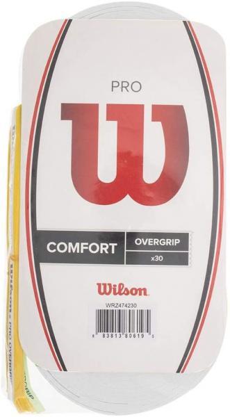 Dây quấn cán vợt tennis WILSON Pro Overgrip 30PK WRZ4017WH