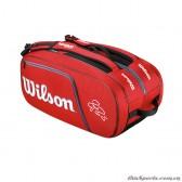 Túi Tennis Wilson FEDERER ELITE BAG RD WRZ830512