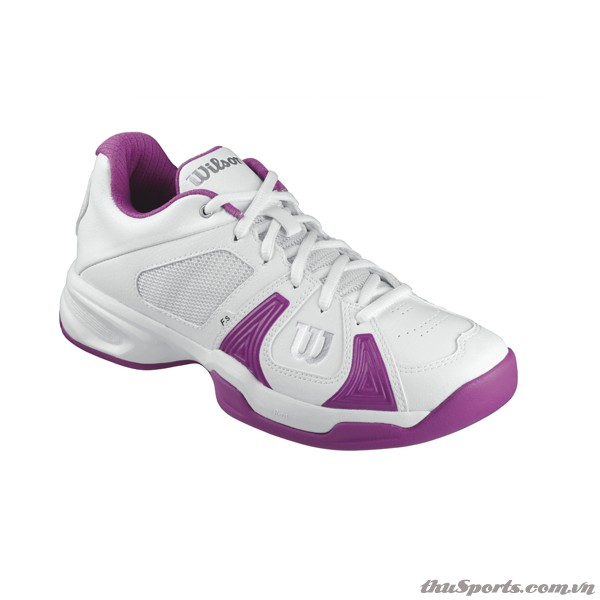 Giày Tennis Wilson Rush Open Women's  WHITE / WHITE / NEW FUCHSIA – WRS317880