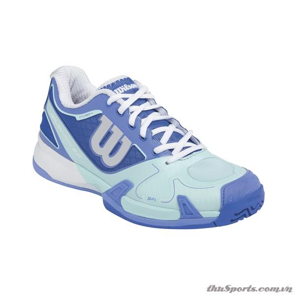 GIÀY TENNIS WILSON RUSH PRO 2.0 WOMEN'S DARK PERI BLUE / MINT ICE / PERI BLUE – WRS319590