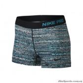 """Quần Chạy Bộ/ Training Nữ Nike Pro 3"""" Static Short Cool Blue Lagoon 749583-407"""