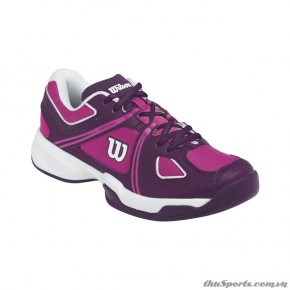 Giày Tennis Wilson Nvision Envy Women's FIESTA PINK / DEEP PLUM / WHITE – WRS319380