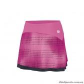 Váy Thể Thao Nữ Wilson Su Color Flight 12.5 Skirt Peony WRA707202