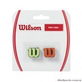 Giảm chấn vợt tennis PROFEEL DAMPENER GREEN/ORANGE WRZ538700
