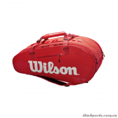 Túi tennis WILSON SUPER TOUR 2 COMP LARGE RED WRZ840809