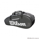 Túi tennis WILSON SUPER TOUR 2 COMP BKGY SMALL WRZ843906