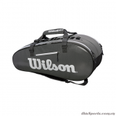 Túi tennis WILSON SUPER TOUR 2 COMP BKGY LARGE WRZ843909