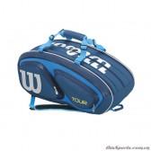 Túi Tennis Wilson TOUR V 15 PACK BL WRZ843615 (Thermoguard 2.0)