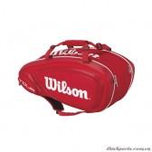 Túi Tennis Wilson TOUR V 9 PACK RD WRZ847609 (Thermoguard 2.0)