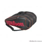 Túi Tennis Wilson BURN TEAM 12 PK BKOR WRZ854512