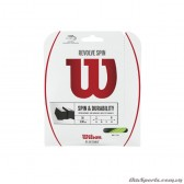 Dây đan vợt tennis WILSON REVOLVE SPIN 16 SET GR WRZ956800
