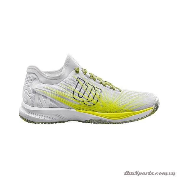 Giày Tennis Wilson KAOS 2.0 SFT Wh/Safety Yel/Ebony WRS323780