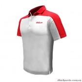 Áo Thể Thao Wilson W5012 Trắng đỏ
